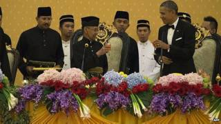 ओबामा मलेशिया बादशाह