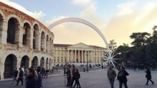 Arena de Verona. Foto: Marcelo Crescenti