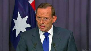 Tony Abbott primer ministro australiano