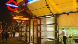 Станция Сауарк в Лондоне закрывается в связи с забастовкой 28 апреля