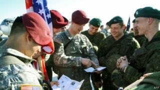 نظامیان آمریکایی در استونی