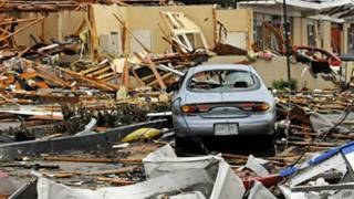آثار توفان در آمریکا