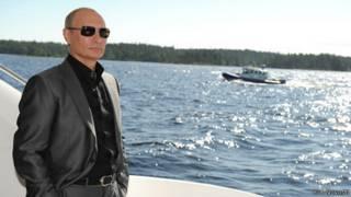 Путин на Валааме
