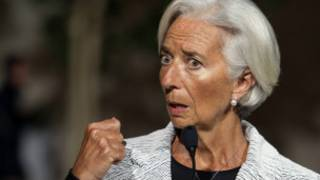 Shugabar Asusun IMF Christine Lagarde