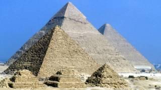 Pirámides de Giza, en Egipto