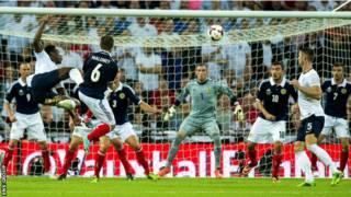 英格蘭與蘇格蘭友誼賽