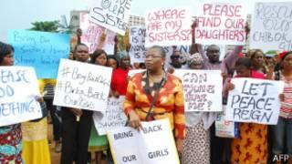 Abasaba irekurwa ry'abana banyurujwe muri Nigeria