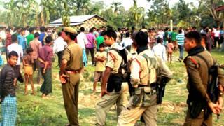 असम में हिंसा