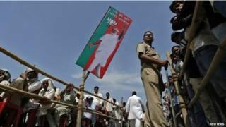 بھارت انتخابی ریلی