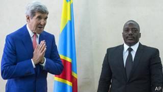 Kerry y Kabila