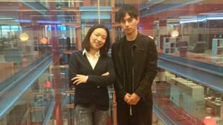 肖媛(左)和谢宇恩