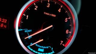 Medidor de coche híbrido