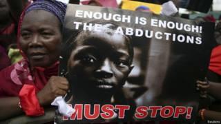 नाइजीरिया में प्रदर्शन