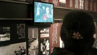 紀念館以展出「六四」時期的錄像和照片為主。