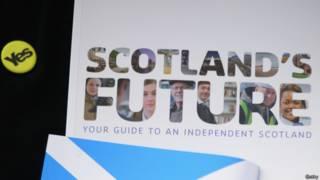 贊成蘇格蘭獨立公投宣傳