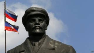 Статуя Ленина в Славянске