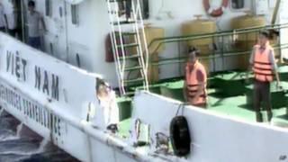 越南受損船隻