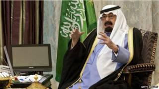 सऊदी के शाह अब्दुल्लाह