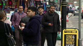 लंदन में रह रहे आप्रवासी भारतीय