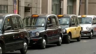 Лондонские такси