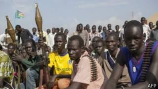 Imirwano yakwiye Sudani y'epfo yose mu kwa cumi na kabiri