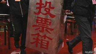 中国地方选举票箱