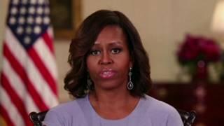 Michelle Obama | Crédito: Casa Branca