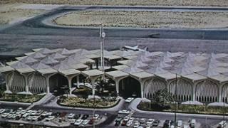 Саудия Арабистонидаги Дхаран халқаро аэропорти кўриниши