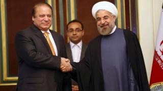 نواز شریف اور ایرانی صدر