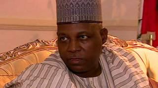 Gwamna Kashim Shettima na Borno