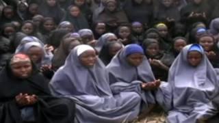 'Yan matan Chibok 130 da kungiyar ta nuna a bidiyo