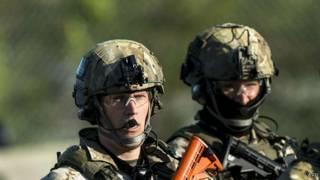 Сотрудники ACADEMI предположительно на Украине