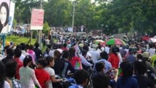 ငြိမ်းချမ်းရေးဆွေးနွေးပွဲကို မြစ်ကြီးနားမှ လူထုကကြိုဆို