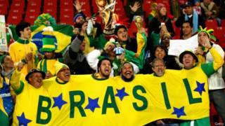 مشجعو منتخب البرازيل يستعدون لكأس العالم المقبل