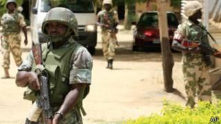 عکس آرشیوی از نیروهای دولتی نیجریه