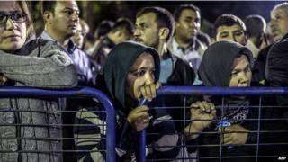 तुर्की में कोयला खदान हादसा, खनिकों के रिश्तेदार