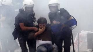 Protesto (AFP)