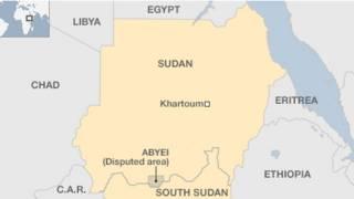 Peta Sudan