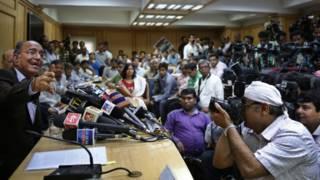 भारतीय मीडिया, सीईसी, वीएस संपत