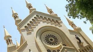 Catedral Católica de São Mateus perto da capital sudanesa, Cartum (AFP)