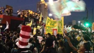 Протесты в Бразилии
