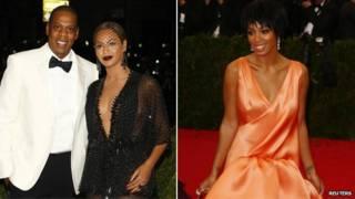 Jay Z, Beyonce dan Solange