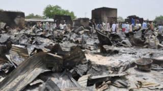 Harin Gamboru Ngala a jihar Borno