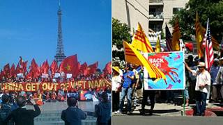 Zanga-zangar kin jinin 'yan kasar China a Vietnam
