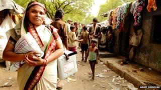 सीता देवी, आंगनवाड़ी कार्यकर्ता