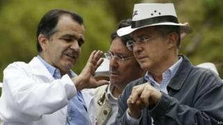 Uribe Velez y Oscar Ivan Zuluaga