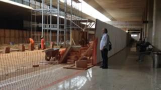 Aeroporto de Belo Horizonte em obras / Crédito da foto: BBC Brasil