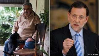 Jose Mujica, Mariano Rajoy