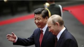 Ông Vladimir Putin và ông Tập Cận Bình