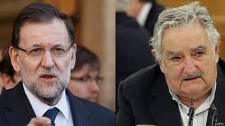 Mariano Rajoy y José Mujica